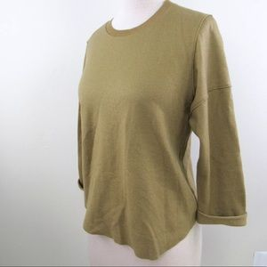 Vince Wool Pullover Drop Sleeve Sweater Sz XS